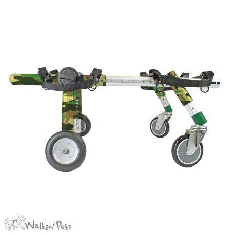 Rollwagen 4-Rad Medium - Walkin´Wheels Quad Wheelchair Medium